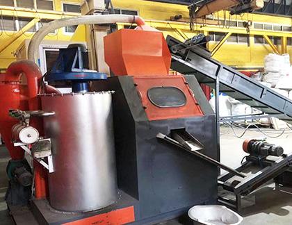 Máquina de reciclaje de cables de cobre